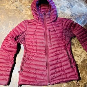 The North Face 800 Down Fill jacket Red M